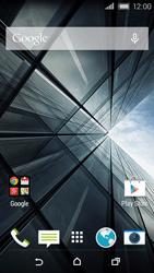 HTC Desire 320 - Internet - Examples des sites mobile - Étape 1