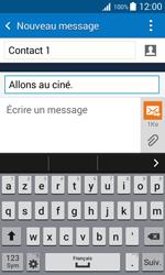 Samsung Galaxy Trend 2 Lite - Contact, Appels, SMS/MMS - Envoyer un MMS - Étape 12
