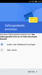 Samsung Galaxy A3 (2017) - Apps - Konto anlegen und einrichten - Schritt 18