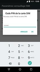 Wiko WIM Lite - Sécuriser votre mobile - Personnaliser le code PIN de votre carte SIM - Étape 10