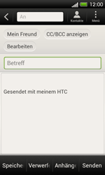 HTC One SV - E-Mail - E-Mail versenden - 2 / 2