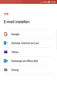 Samsung Galaxy S7 Edge - Android Oreo - E-mail - handmatig instellen (gmail) - Stap 8