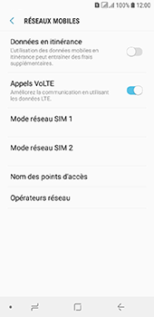 Samsung Galaxy A6 - Internet - configuration manuelle - Étape 9