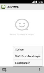 Huawei Ascend Y330 - SMS - Manuelle Konfiguration - Schritt 4