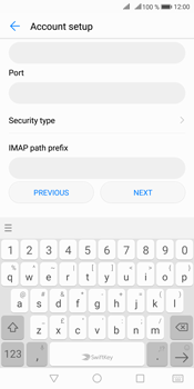 Huawei Mate 10 Pro - Email - Manual configuration IMAP without SMTP verification - Step 10