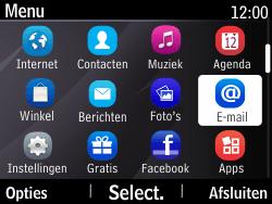 Nokia Asha 210 - E-mail - E-mails verzenden - Stap 3