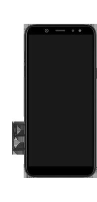 Samsung galaxy-a6-sm-a600fn-ds-android-pie - Instellingen aanpassen - SIM-Kaart plaatsen - Stap 8