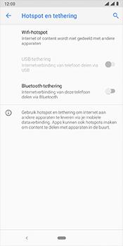 Nokia 3-1-plus-dual-sim-ta-1104-android-pie - WiFi - Mobiele hotspot instellen - Stap 6