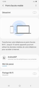 Samsung Galaxy A70 - Internet - comment configurer un point d'accès mobile - Étape 7