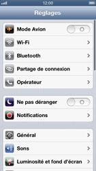Apple iPhone 5 - WiFi - configuration du WiFi - Étape 5
