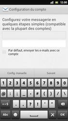 Sony Xperia S - E-mail - Configuration manuelle - Étape 6