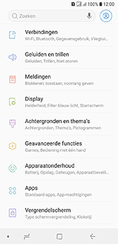 Samsung Galaxy A6 - wifi - handmatig instellen - stap 4