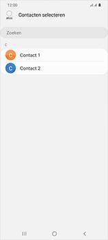 Samsung Galaxy S20 Ultra 5G Dual SIM eSIM SM-G988B - Contacten en data - Contacten kopiëren van toestel naar SIM - Stap 9
