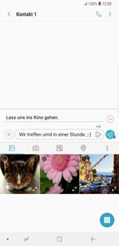 Samsung Galaxy S9 Plus - MMS - Erstellen und senden - 0 / 0
