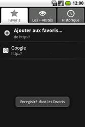 Samsung I7500 Galaxy - Internet - navigation sur Internet - Étape 10