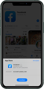 Apple iPhone 8 - iOS 13 - apps - account instellen - stap 24
