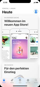 Apple iPhone X - Apps - Nach App-Updates suchen - Schritt 3