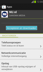 Samsung I8190 Galaxy S III Mini - Applicaties - Downloaden - Stap 8
