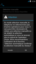 Wiko jimmy - Réseau - Sélection manuelle du réseau - Étape 8