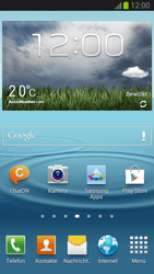 Samsung Galaxy S III - Software - Installieren von Software-Updates - Schritt 1
