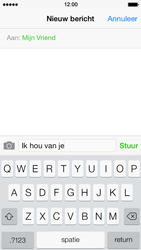 Apple iPhone 5s - MMS - Afbeeldingen verzenden - Stap 7