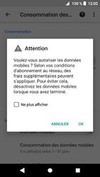 Sony Xperia XZ1 Compact - Internet et roaming de données - Comment vérifier que la connexion des données est activée - Étape 7