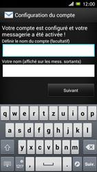 Sony Xperia J - E-mail - Configuration manuelle - Étape 16