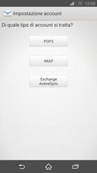 Sony Xperia Z3 - E-mail - configurazione manuale - Fase 7