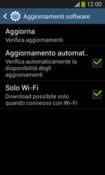 Samsung Galaxy Ace III - Software - Installazione degli aggiornamenti software - Fase 10