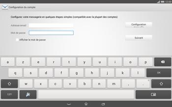 Sony Xperia Tablet Z2 LTE - E-mail - configuration manuelle - Étape 6