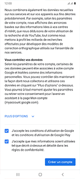 Samsung Galaxy A41 - Applications - Créer un compte - Étape 17