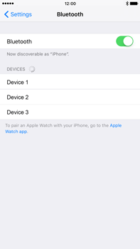 Apple iPhone 6s Plus - Bluetooth - Connecting devices - Step 7