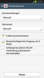 Samsung I9300 Galaxy S III - E-Mail - Konto einrichten (yahoo) - Schritt 8