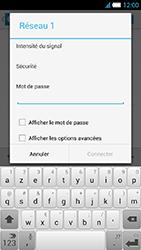 Alcatel One Touch Idol S - WiFi - configuration du WiFi - Étape 9