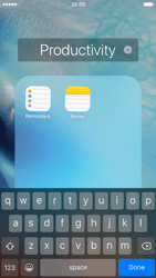 Apple iPhone 6s - Getting started - Personalising your Start screen - Step 6