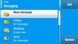 Nokia N97 - MMS - Sending pictures - Step 3