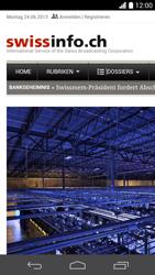 Huawei Ascend P6 - Internet und Datenroaming - Verwenden des Internets - Schritt 19