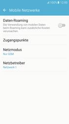 Samsung G920F Galaxy S6 - Android M - Netzwerk - Netzwerkeinstellungen ändern - Schritt 7
