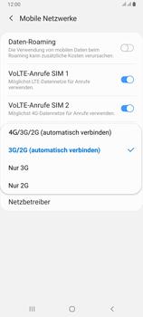 Samsung Galaxy A80 - Netzwerk - So aktivieren Sie eine 4G-Verbindung - Schritt 7