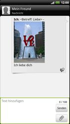 HTC Sensation XE - MMS - Erstellen und senden - 2 / 2
