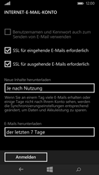 Microsoft Lumia 435 - E-Mail - Konto einrichten - Schritt 16