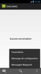 Acer Liquid Z5 - SMS - configuration manuelle - Étape 5