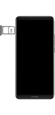 Huawei Mate 10 Pro - Android Pie - SIM-Karte - Einlegen - Schritt 5