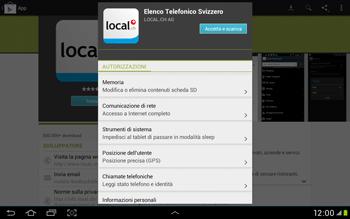 Samsung Galaxy Tab 2 10.1 - Applicazioni - Installazione delle applicazioni - Fase 8