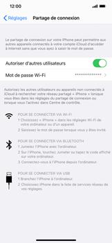 Apple iPhone XR - iOS 14 - WiFi - Comment activer un point d'accès WiFi - Étape 8