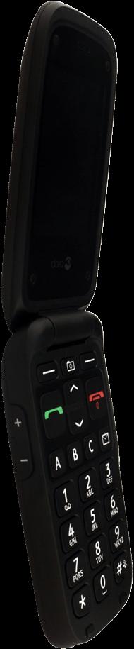 Doro Phone Easy 612 - Premiers pas - Découvrir les touches principales - Étape 12