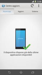 Sony Xperia Z1 - Software - Installazione degli aggiornamenti software - Fase 7