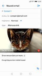 Huawei P8 Lite 2017 - E-mail - envoyer un e-mail - Étape 14