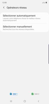 Samsung Galaxy Note 10 - Réseau - Sélection manuelle du réseau - Étape 8