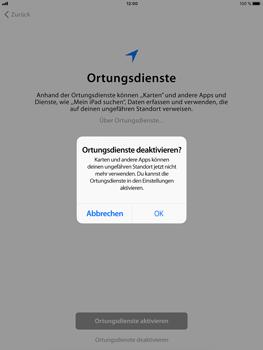 Apple iPad Air 2 - iOS 11 - Persönliche Einstellungen von einem alten iPhone übertragen - 21 / 29